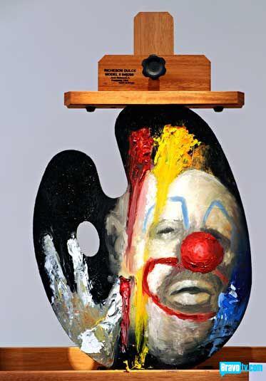 Erik Johnson's portrait of Mark Velasquez from Work of Art