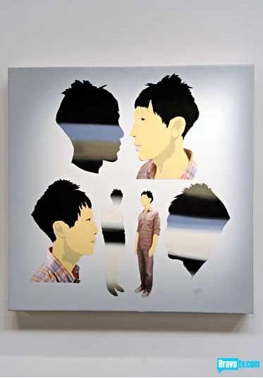 John Parot's portrait of Tron Nguyen from Work of Art