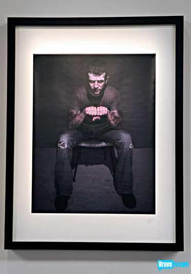 Mark Velasquez's portrait of Erik Johnson from Work of Art