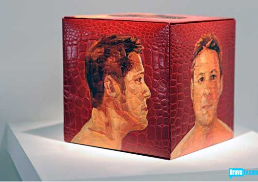 Tron Nguyen's portrait of John Parot from Work of Art
