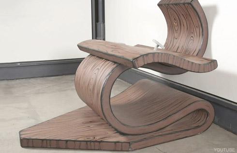 Miles Mendenhall chair sculpture