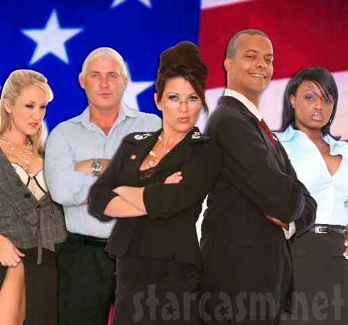 Steve Driver as Barack Obama in Palin: Erection 2008