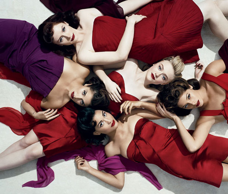 Twilight Eclipse actresses pose for Vanity Fair