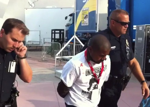 The guy who allegedly stabbed another man at Comic-Con 2010