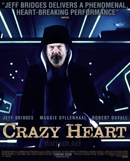 Crazy Heart meets Tron Legacy in this Jeff Bridges movie poster mash-up
