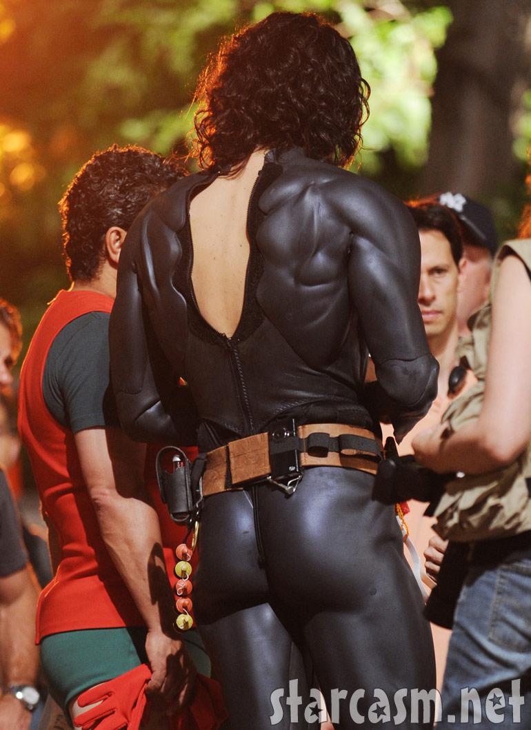 Russell Brand's Batman bum
