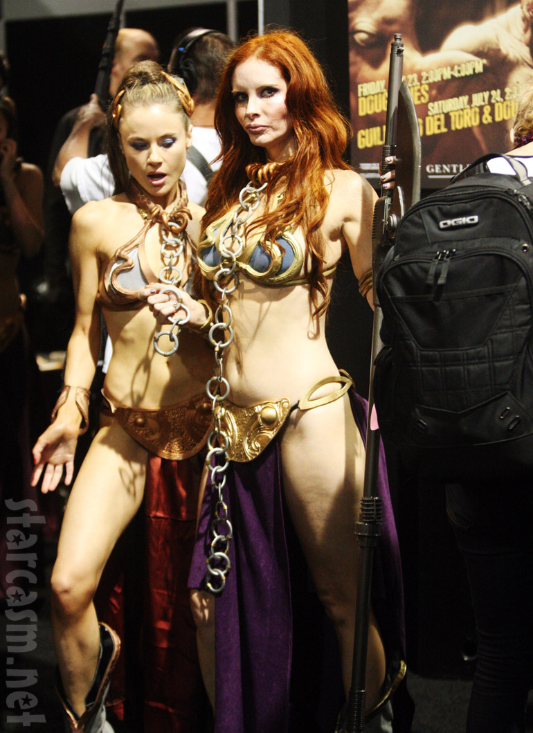 Phoebe Price in a Princess Leia costume