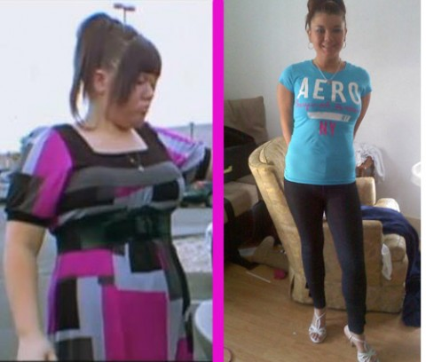 Amber Portwood fat and skinny photos
