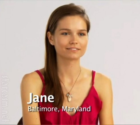 Jane Randall from America's Next Top Model Cycle 15
