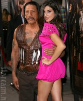 Danny Trejo and Electra or Elise Avellan