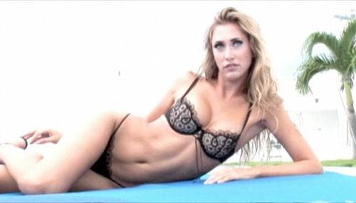 Lauren Stoner lingerie photo