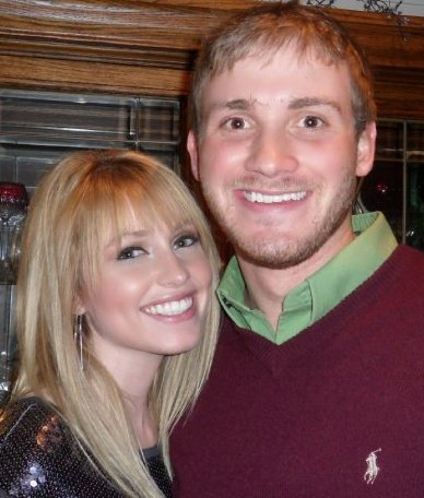 Britney Haynes and Nick Grisham who she is engaged to