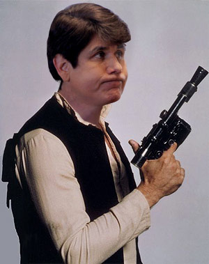 Rod Blagojevich as Han Solo