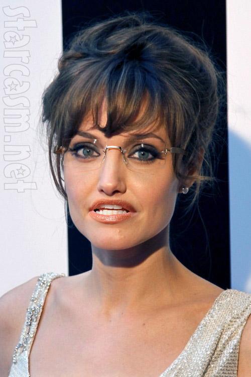 Angelina Jolie as Sarah Palin