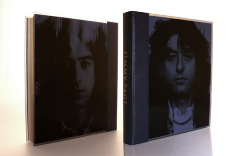 Publishers image of Jimmy Page's autobiography front and back cover