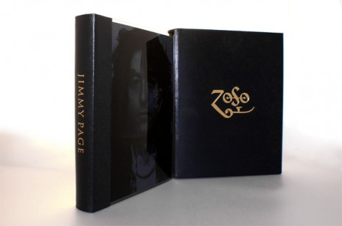 Publishers image of the Jimmy Page limited edition autobiography