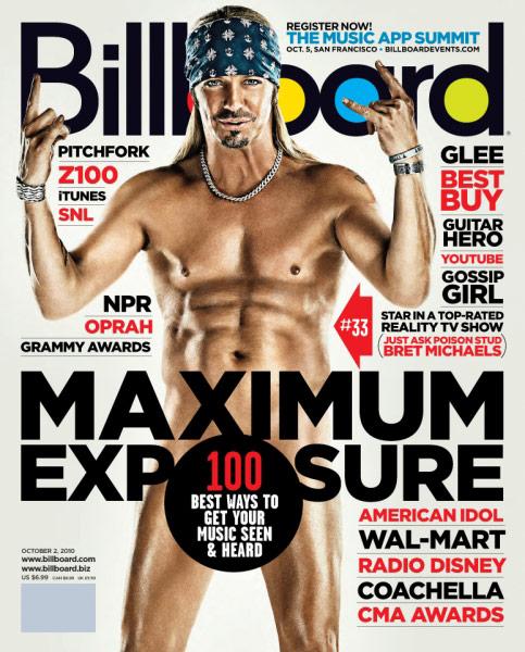 Bret Michaels Billboard magazine