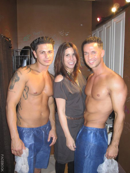 Cindy Barshop Pauly D and The Situation from Jersey Shore