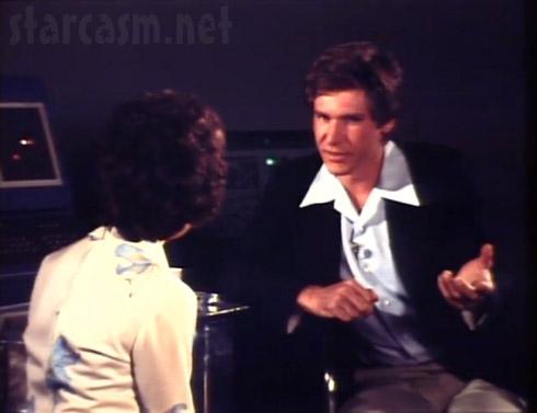 Bobbie Wygant of KXAS interviews Harrison Ford about Star Wars in 1977