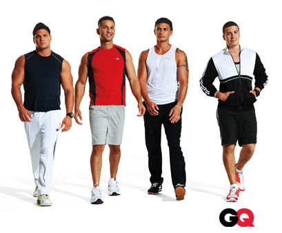 Jersey Shore GQ makeover