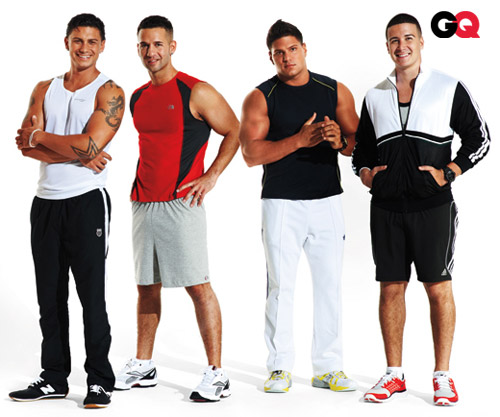 Jersey Shore guys get a GQ makeover