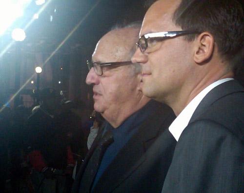 Jon Landau and Thom Zimny at Toronto Film Festival