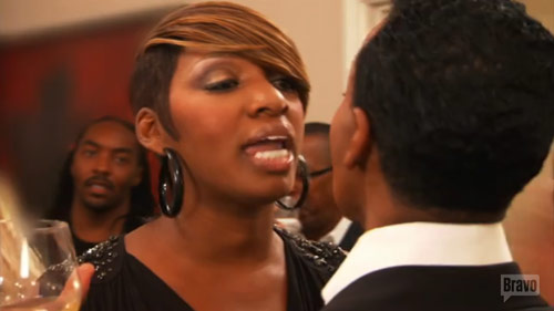 NeNe Leakes and Dwight fight