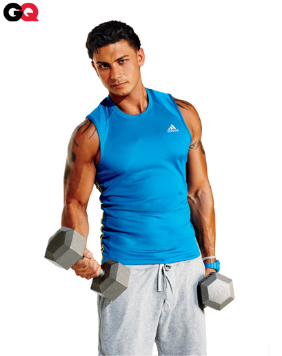 Pauly D GQ makeover