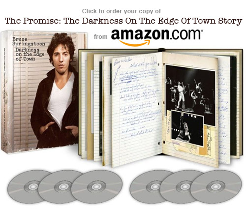 Order Bruce Springsteen's The Promise deluxe box set from amazon.com