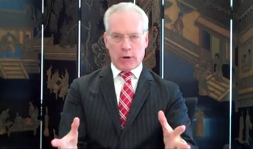 Tim Gunn - you wouldn't like hiim when he's angry