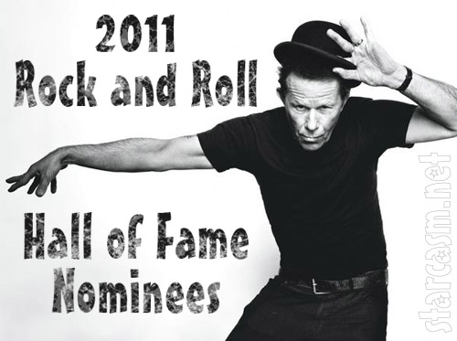 Tom Waits Rock and Roll Hall of Fame 2011