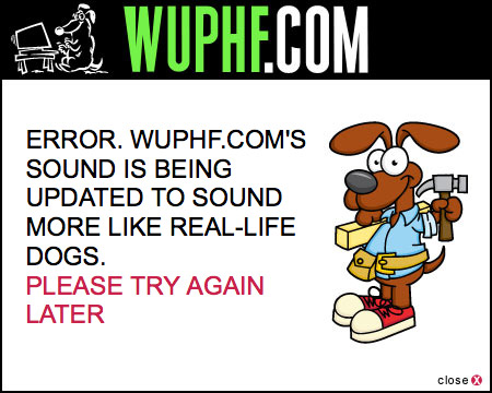 WUPHF.com error message