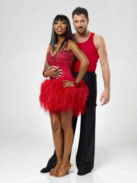 Brandy and Maksim Chmerkovskiy