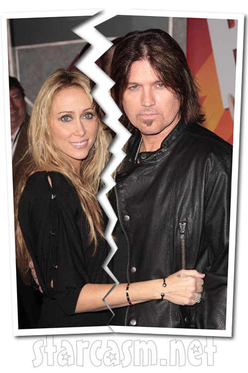 Billy Ray Cyrus and wife Tish Cyrus split