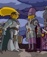 The Future religious war over Bart Simpson