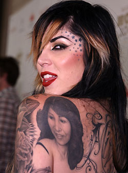 Photos How Many Tattoos Does Kat Von D Have List And Guide
