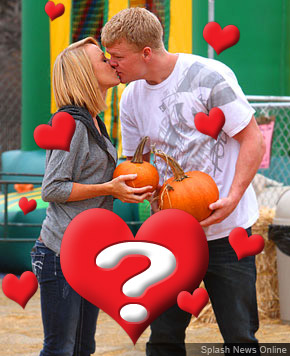 Maci Bookout and Kyle King shop for pumpkins in Los Angeles