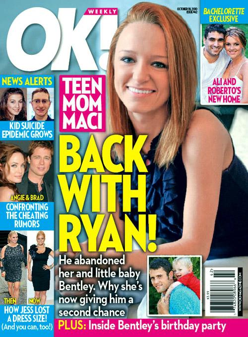 OK! magazine Maci Bookout Teen Mom cover