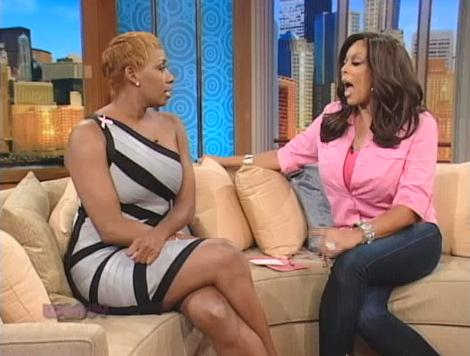 NeNe Leakes on the Wendy Williams show