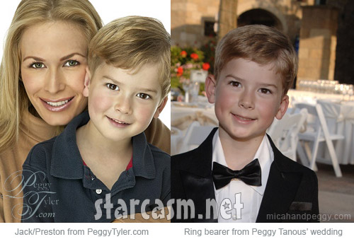 Peggy Tanous and her son or nephew Preston or Jack