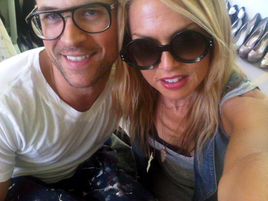 Brad Goreski and Rachel Zoe together