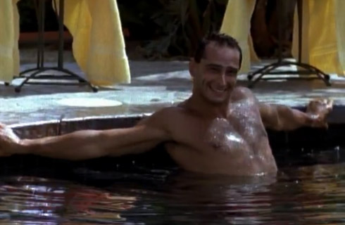 Creepy pool dude waiting for Lisa Vanderpump