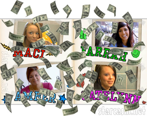 Teen Mom salaries revealed!