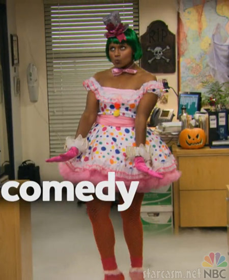 Kelly Kapoor as Katy Perry from The Office