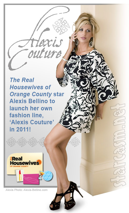 Real Housewives of Orange County's Alexis Bellino to launch Alexis Couture fashion line