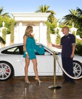 RHOC's Alexis Bellino in a preview photo from her Alexis Couture fashion line
