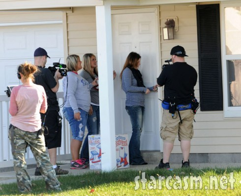 Amber Portwood moves in to her new apartment as MTV films Teen Mom Season 3