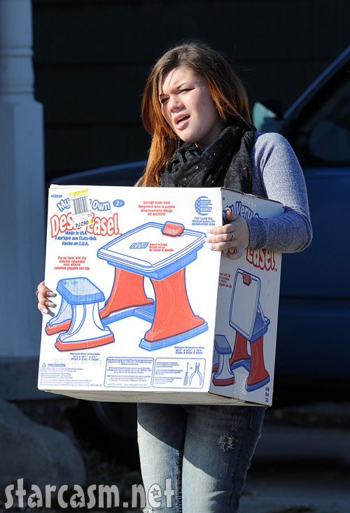 Amber Portwood moves out of her apartment