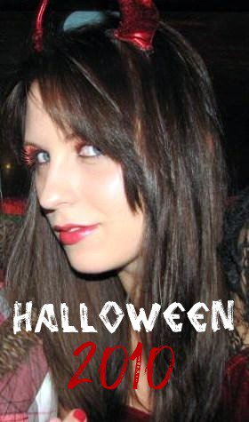 16 and Pregnant's Aubrey Wolters Akerill in a Halloween costume