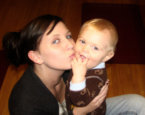 Aubrey Wolters Akerill and son Austin from 16 and Pregnant